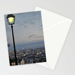 Paris at Dusk Stationery Cards