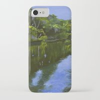 turkey iPhone & iPod Cases featuring Turkey Creek by Roger Wedegis