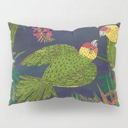 Parakeet Paradise Pillow Sham