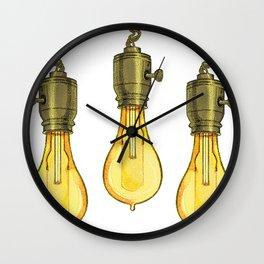 A Bright Idea Wall Clock