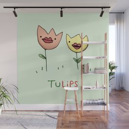 TuLIPS Wall Mural