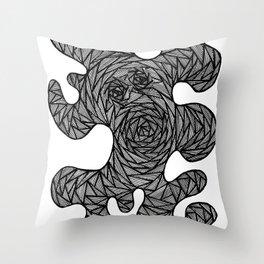 Yarn Monster Throw Pillow