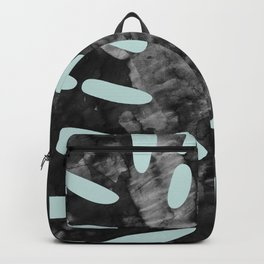 Composition tropical leaves II Backpack