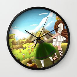William Tell Freedom Fighter Wall Clock