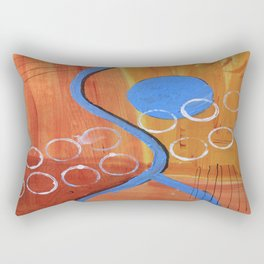 Below the Line Rectangular Pillow