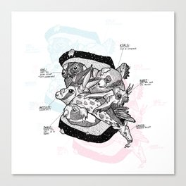 Sandwich (for meat lovers) Canvas Print