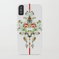 moth iPhone & iPod Cases featuring Moth by Tina Carroll