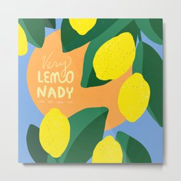 Very Lemonady Metal Print