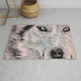 Spirit of White Wolf Rug