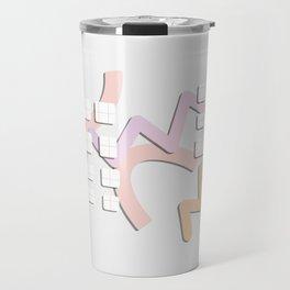 Kamikaze - Doodling Pattern 007 Travel Mug