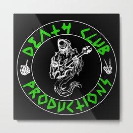 Green DCP Logo Metal Print