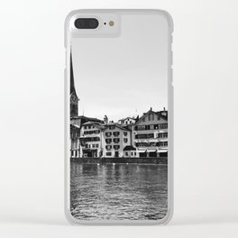 Zürich View Clear iPhone Case