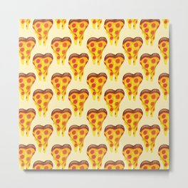 pizza lover Metal Print