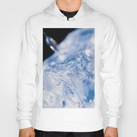 ice Hoodies featuring Ice by Euan Anderson