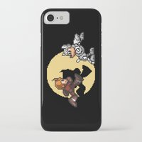 tintin iPhone & iPod Cases featuring Mega TinTin Man by 84Nerd