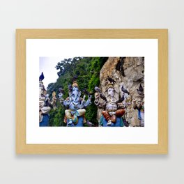 Batu Caves Framed Art Print