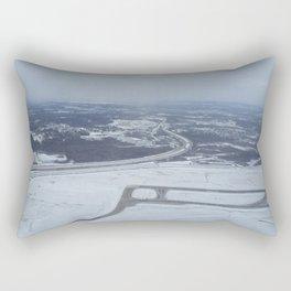Detroit Wayne Metro Airport Rectangular Pillow
