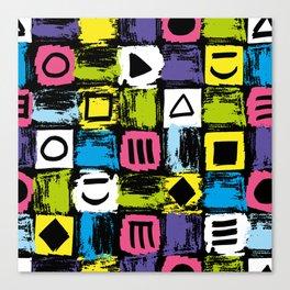 Fashion Patterns Shell-Shocked Canvas Print
