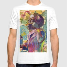Orchard A White Mens Fitted Tee MEDIUM