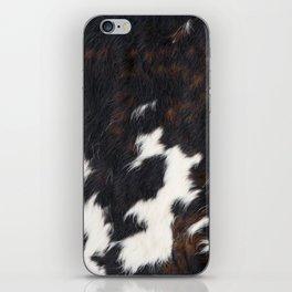 Cowhide Texture iPhone Skin