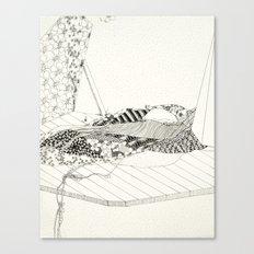 A dusty fertility is still open for locusts Canvas Print