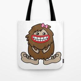 Cute Bigfoot Tote Bag