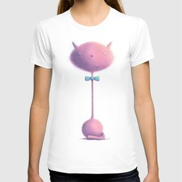 fuzzy kitty cat by dana alfonso T-shirt