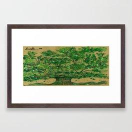 The Baratta Family Tree Framed Art Print