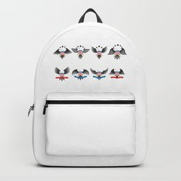 Happy National American Eagle Day Backpack
