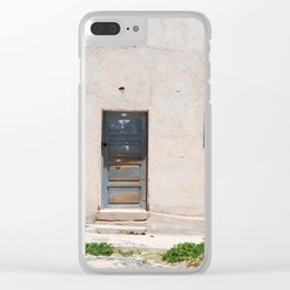 Bolivia door 5 Clear iPhone Case