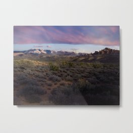 Dusk at Arches National Park Moab, UT Metal Print