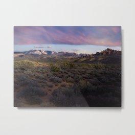 Dusk at Arches National Park Moab, UT Metal Print