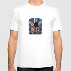 Greetings from London Mens Fitted Tee White MEDIUM