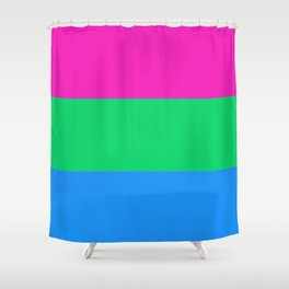 Polysexual Flag Shower Curtain
