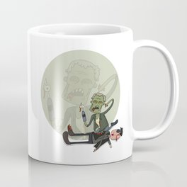 The walking dead Merle eating governor Coffee Mug