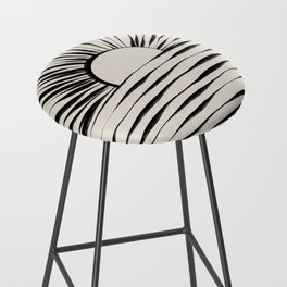 Minimal Sunrise / Sunset Bar Stool