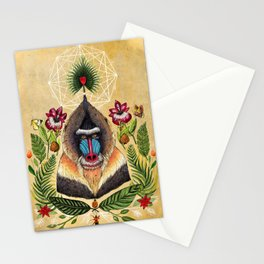 Majestic Mandrill Stationery Cards