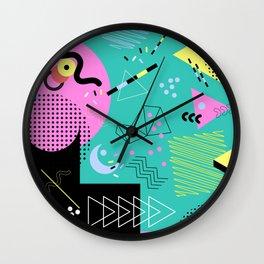 Piazza Pizzazz Wall Clock