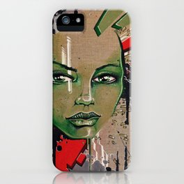 Street Girl iPhone Case