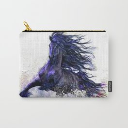 Horse running  Carry-All Pouch