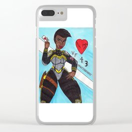 Helen Clear iPhone Case