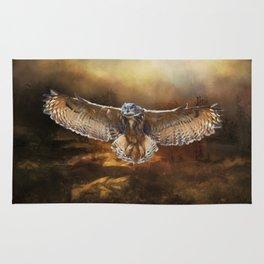 Owl Flight Rug
