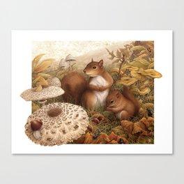 Underwood Canvas Print