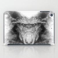 sasquatch iPad Cases featuring Sasquatch by Zandonai