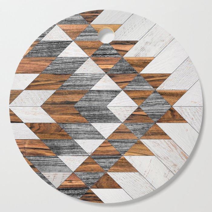 Urban Tribal Pattern 12 - Aztec - Wood Cutting Board