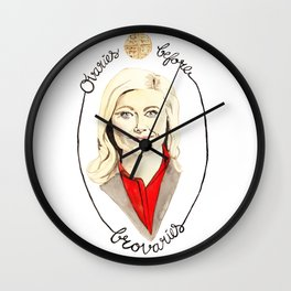 You're the Leslie Dopest Wall Clock