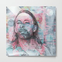 Thom Yorke - Give Up The Ghost Metal Print