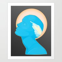 android Art Prints featuring Android by Kris Hawkins