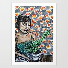 the horticulturist Art Print