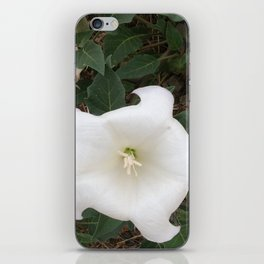 The Ghostly Lady iPhone Skin